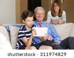 portrait of multi generation...   Shutterstock . vector #311974829