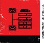 networking and database design...   Shutterstock .eps vector #311983316