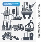 industry engineer and... | Shutterstock .eps vector #312001496