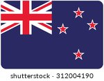 a flag illustration with... | Shutterstock . vector #312004190
