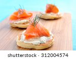 Appetising Smoked Salmon And...