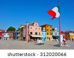 Burano Island  Italy   May 01...