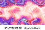 abstract multicolored creative... | Shutterstock . vector #312033623