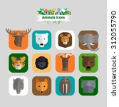 wild animals avatars