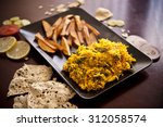 indian rice with vegetables | Shutterstock . vector #312058574