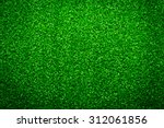 Green Grass Soccer Field...