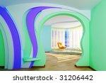 home interior. modern 3d design   Shutterstock . vector #31206442