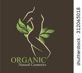 organic cosmetics design...   Shutterstock .eps vector #312065018
