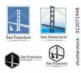 golden gate bridge san francisco | Shutterstock .eps vector #312071948