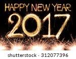 Happy New Year 2017 Written...