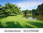 wonderful park in kassel ... | Shutterstock . vector #312154568
