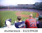 Boston Red Sox Baseball Crowd...