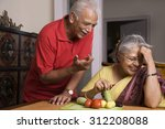 old couple | Shutterstock . vector #312208088