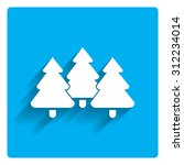 icon of tree fir trees | Shutterstock .eps vector #312234014