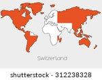 a flag illustration inside the... | Shutterstock .eps vector #312238328