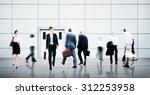 business people city life... | Shutterstock . vector #312253958