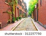 Historic Acorn Street At ...
