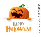 happy halloween  | Shutterstock .eps vector #312263150
