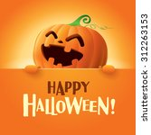happy halloween  | Shutterstock .eps vector #312263153