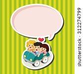 family  cartoon speech icon | Shutterstock . vector #312274799