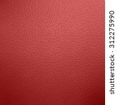 Red Leather Background...