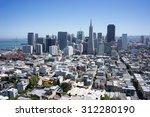 beautiful cityscape skyline... | Shutterstock . vector #312280190