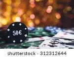 Poker Chips 50 Euro. Vegas...