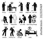 medication drug side effects... | Shutterstock .eps vector #312325469