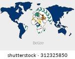 a flag illustration inside the... | Shutterstock .eps vector #312325850