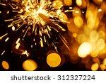 fire sparkler | Shutterstock . vector #312327224