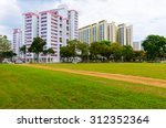 view of singapore residential... | Shutterstock . vector #312352364