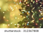 christmas tree | Shutterstock . vector #312367808