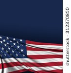 usa flag  american background ... | Shutterstock . vector #312370850