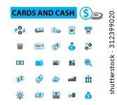 money payment  cash  bill ... | Shutterstock .eps vector #312399020