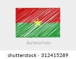 a scribbled flag illustration... | Shutterstock .eps vector #312415289