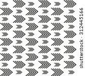 scandinavian trend seamless... | Shutterstock .eps vector #312445166
