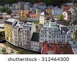 view of the historic town in... | Shutterstock . vector #312464300