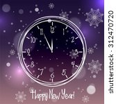 happy new year sketch with... | Shutterstock .eps vector #312470720