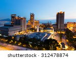 cement plant at night | Shutterstock . vector #312478874