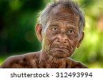 smile old man     Shutterstock . vector #312493994