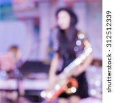 blur pretty young musician...   Shutterstock . vector #312512339