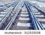 Railway Tracks On The Big...