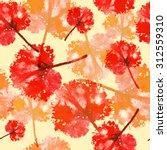 watercolor pattern of imprint...   Shutterstock . vector #312559310