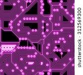 seamless  pattern  of... | Shutterstock . vector #312569300