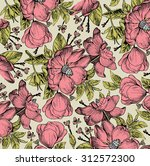 beautiful vintage background... | Shutterstock .eps vector #312572300