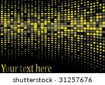 bright background in black and... | Shutterstock .eps vector #31257676