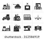 black business and industry... | Shutterstock .eps vector #312586919