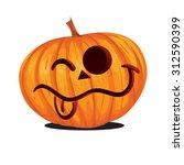 vector illustration of jack o... | Shutterstock .eps vector #312590399
