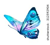 Stock photo butterflies design 312592904
