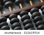 Old Wooden Abacus With A...